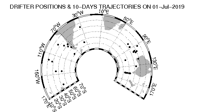 Trajectory 5 day